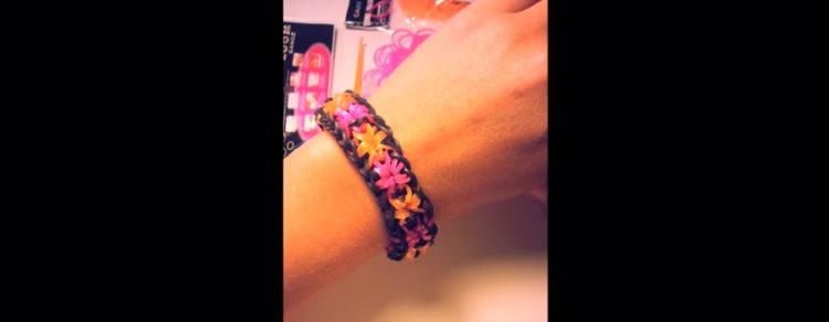 bracelet-elastique-fleur-sans-machine